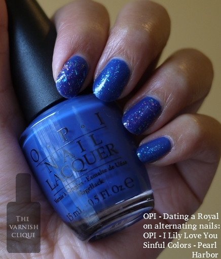 Opi 619828109514 Nail Lacquer Dating Royal 0.5 15ml B70