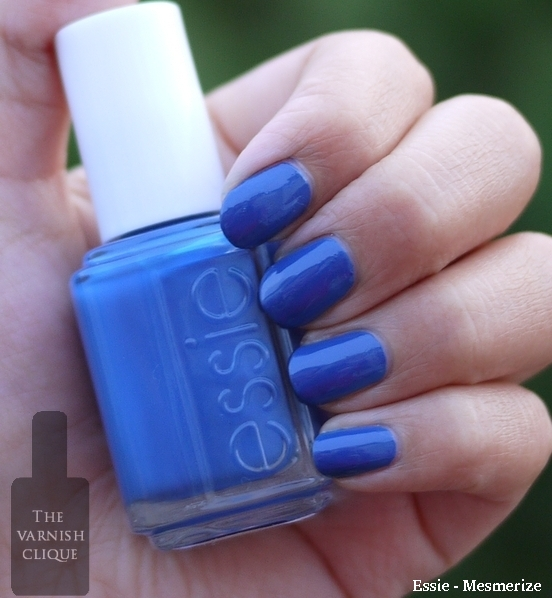 Opi-Dating a royal vs essie mesmerize
