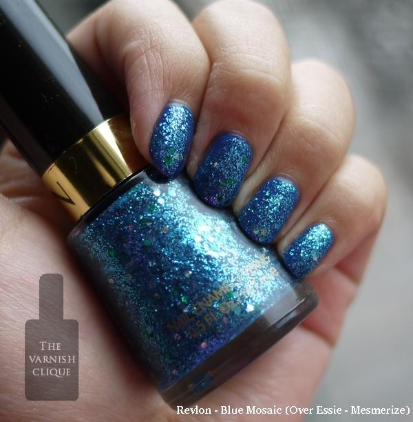 revlon- blue mosaic