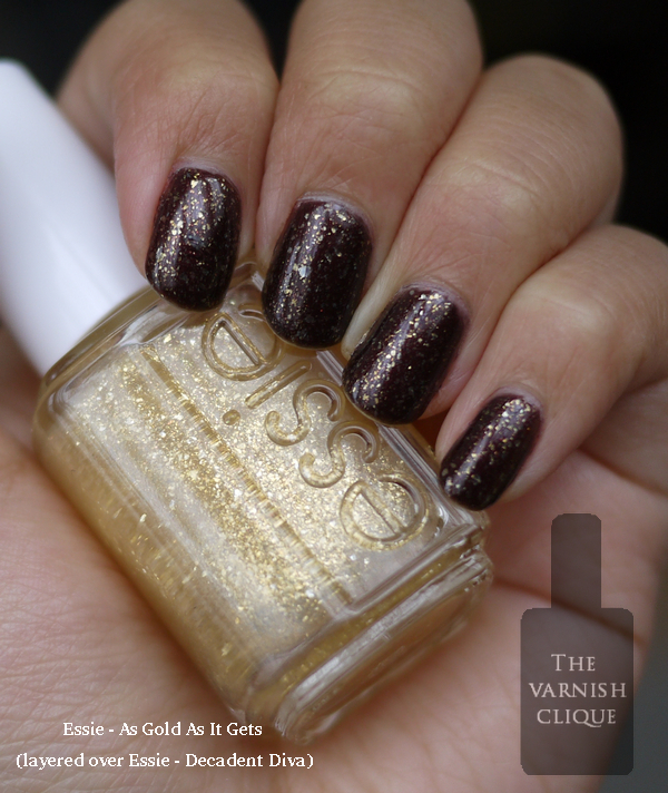 essie - as gold as it gets